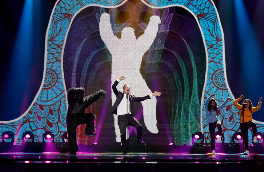 Eurovision 2017 1 poolfinaali zürii läbimäng