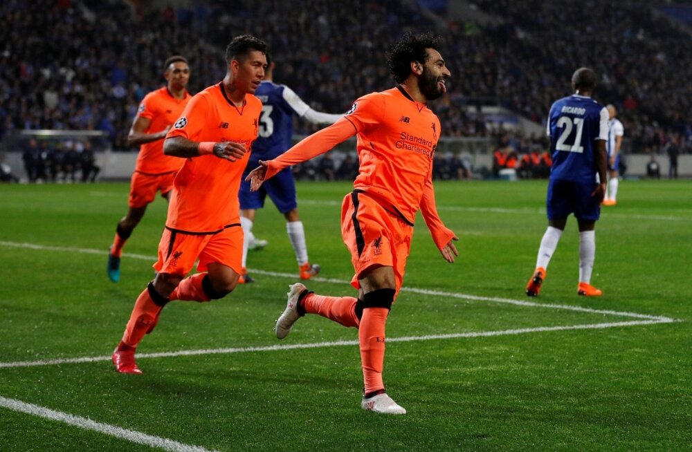 Mo Salah duubeldas Portos Liverpooli eduseisu