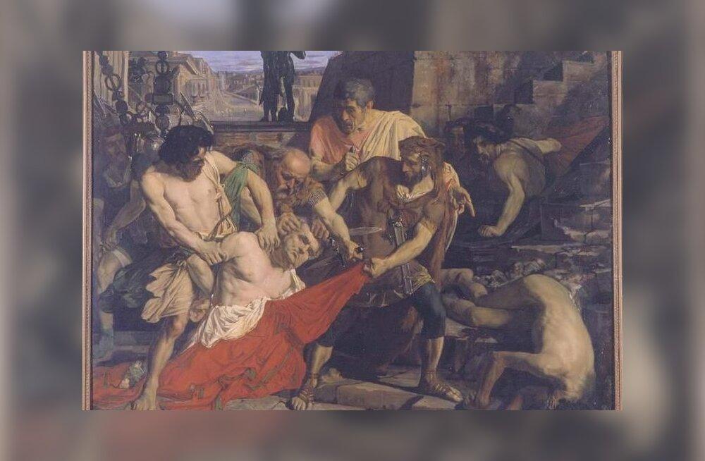 Rooma keiser oli maailma tähtsaim amet, raske oli ainult elus püsida