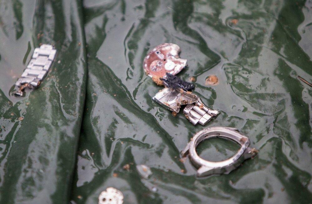 ФОТО: Часы командира Куперьяновского батальона были расстреляны в пятой серии выстрелов