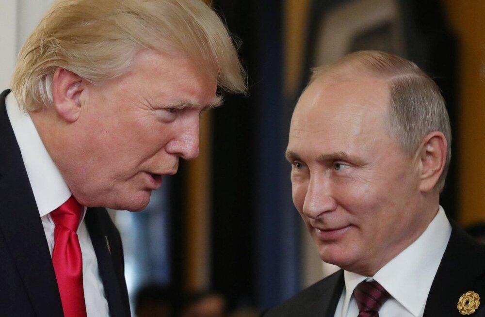 Enda sõnul usub Donald Trump juttu, mida Vladimir Putin talle USA valimiste kohta rääkis. Kremli ametliku teate järgi vestlesid Putin ja Trump üksnes Süüria olukorrast.