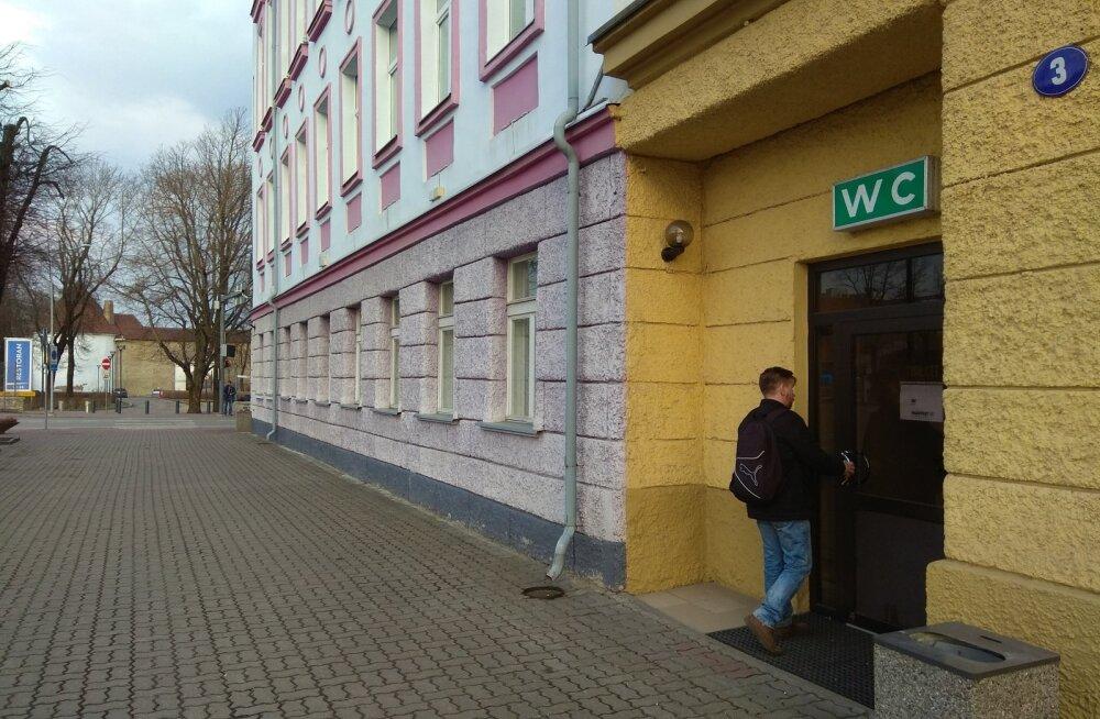 Нарва готова доплачивать будущему арендатору городского туалета 1200 евро в месяц