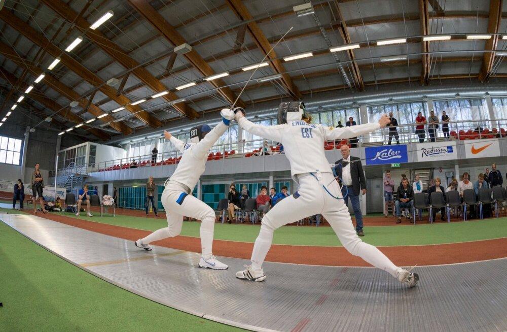 Eesti meistrivõistlused vehklemise 2016