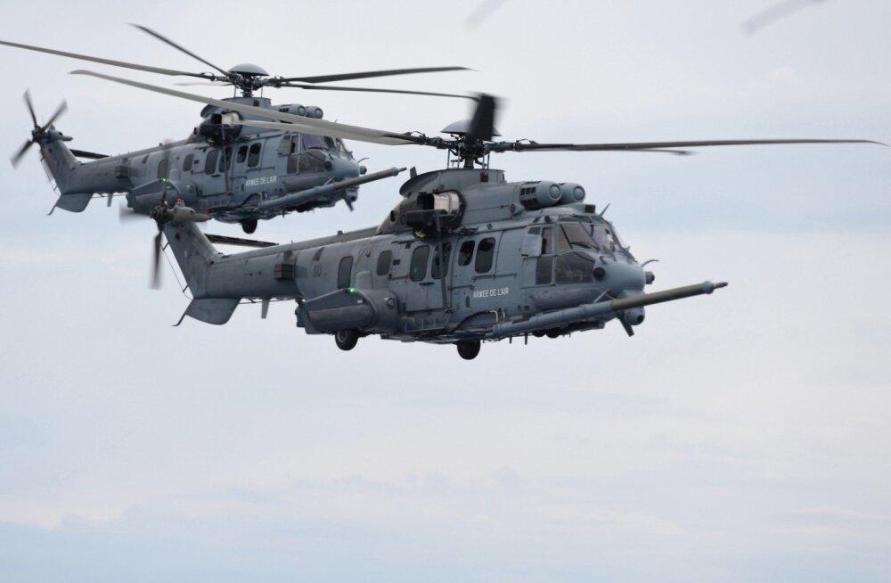 Prantsusmaal toodetavad Caracal-tüüpi helikopterid