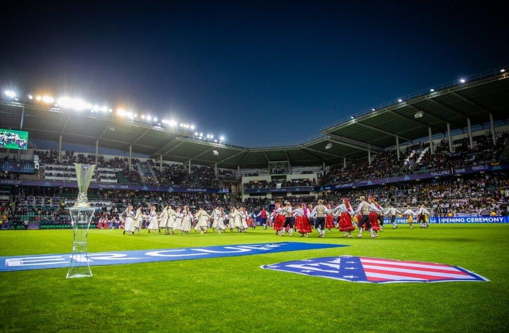 Super Cup finaal Lilleküla staadionil