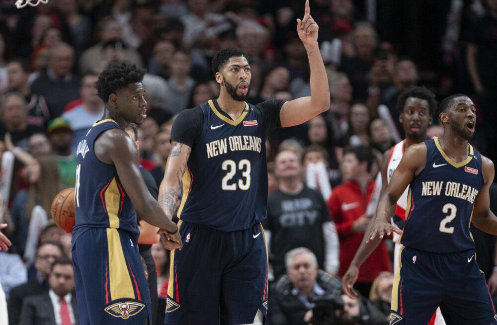 VIDEO   NBA play-off'id algasid: noor Sixers purustas Miami, Pelicans võttis võõrsil magusa võidu