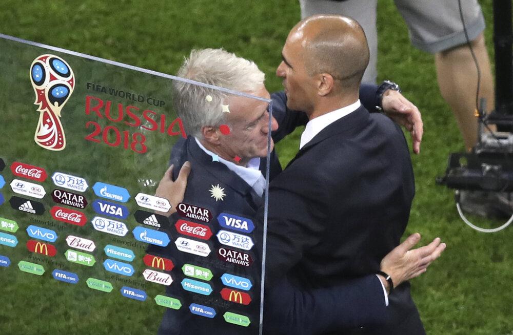 Belgia koondise peatreener pärast kaotust: see oli väga võrdne mäng