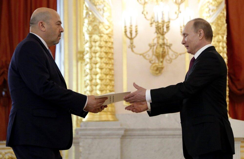 Venemaa teatas Iisraeli saadiku vaibale kutsumisest õhurünnaku pärast Süürias
