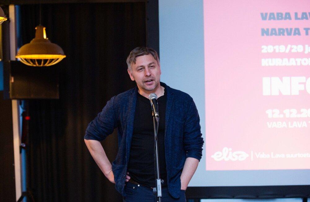Новый куратор Vaba Lava — литовский драматург и режиссер Мариус Ивашкявичюс