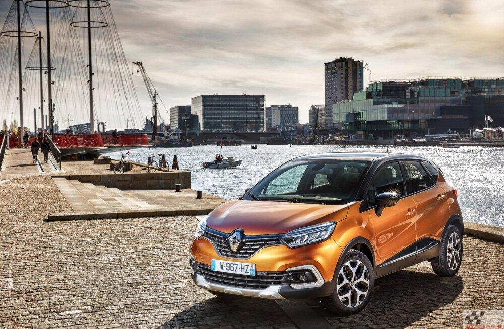 Proovisõiduks uuenenud Renault Captur: meil juhtus ka väike intsident
