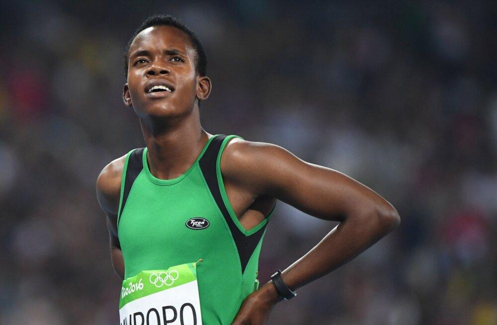 Dopinguproovis põrunud Zambia jooksja väidab, et teda vaevab Semenyaga sama haigus