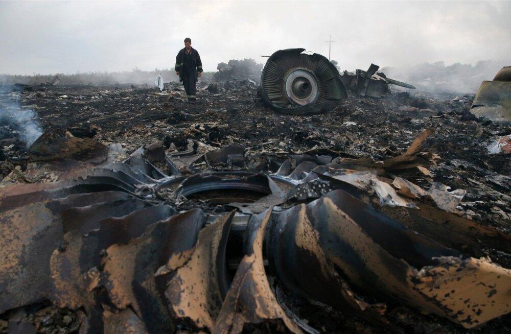 Malaysia Airlinesi lennuki MH17 rusud