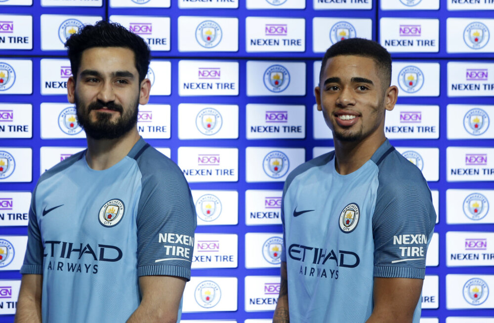 Manchester City sai esimese Inglise klubina varrukasponsori