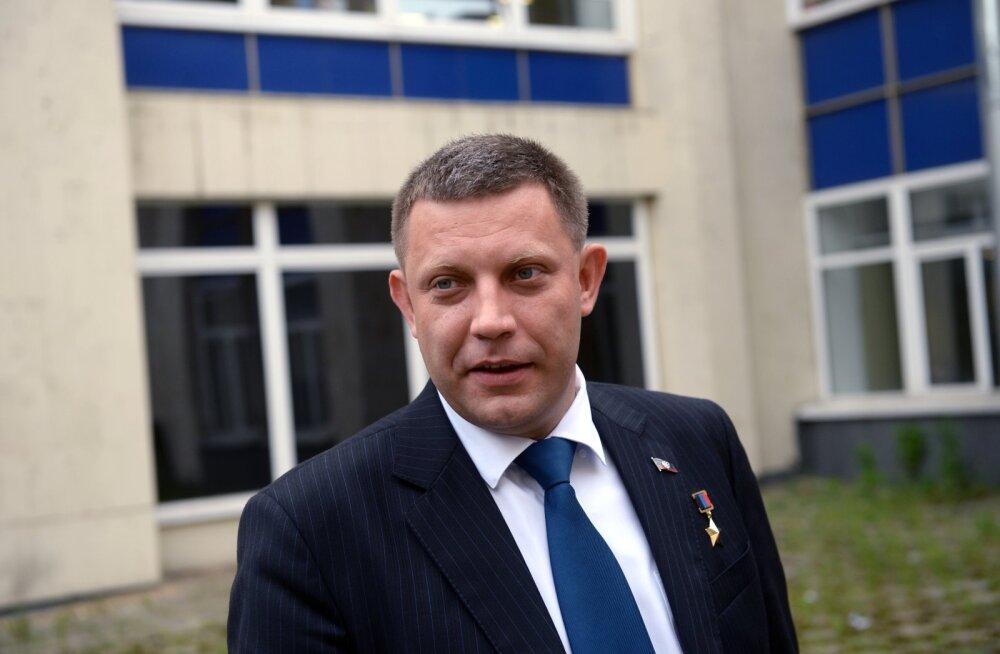 Donetski ja Luhanski venemeelsed võitlejad kuulutasid välja relvarahu