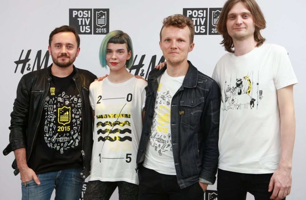 Eesti disainer kujundas Positivus Festivalile ametliku T-särgi!