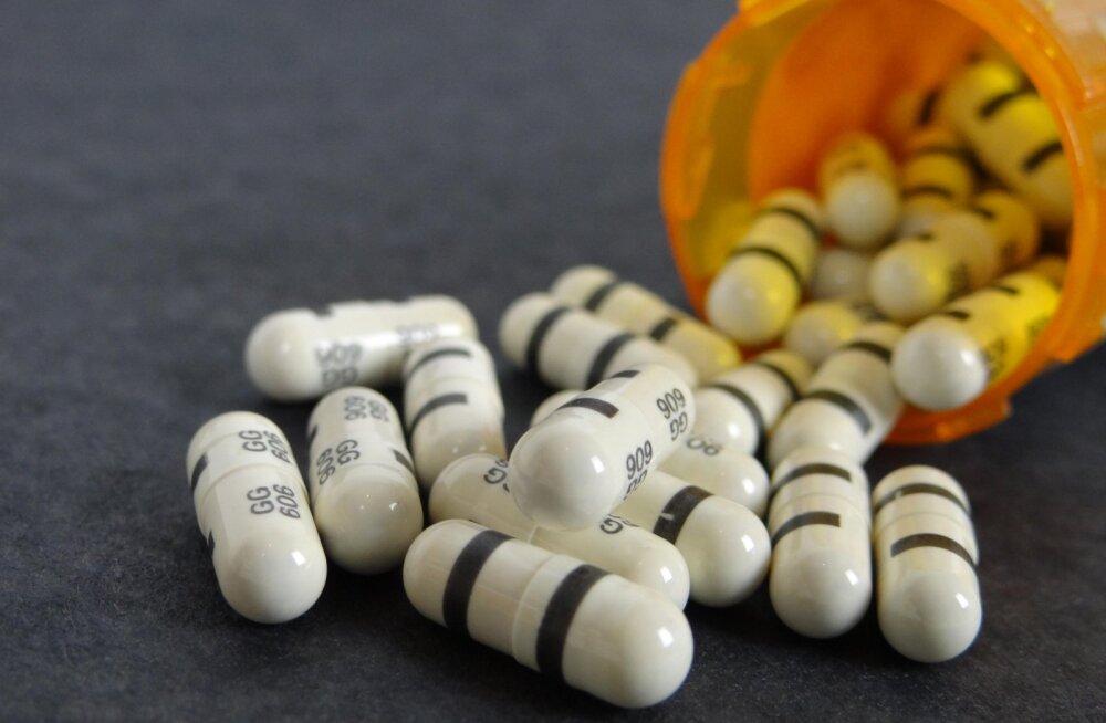Iga kolmas tablett, mis suhu pannakse, jõuab lõpuks merre