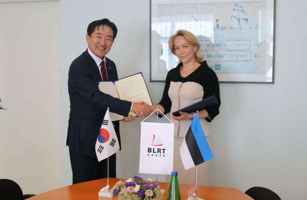 BLRT Grupp подписал договор о сотрудничестве с южнокорейской фирмой Panasia