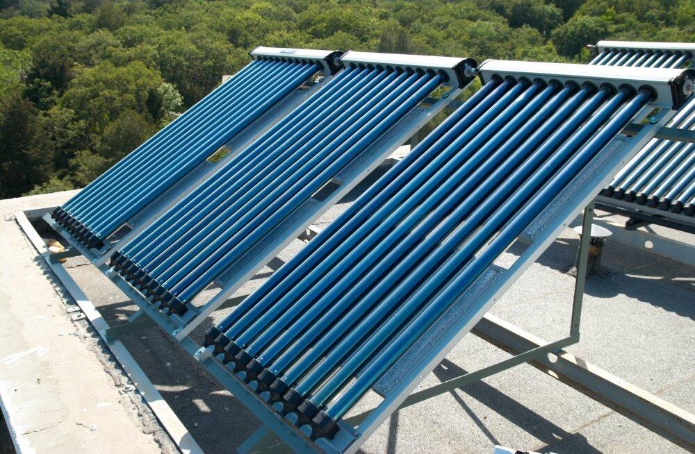 Päikeseküte on hea lahendus ka kortermajadele. Vaata, milliseks võib kujuneda rahasääst