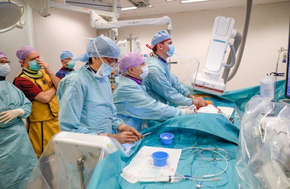 Invasiivkardioloogia osakond
