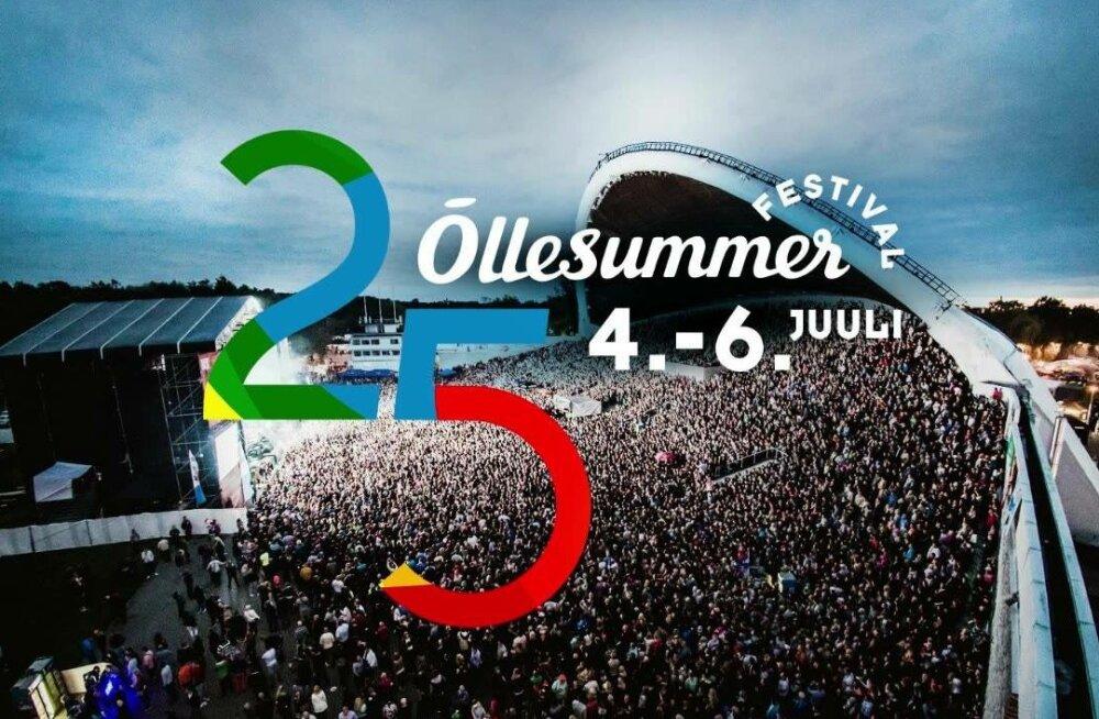 Фестивалю Õllesummer исполняется 25 лет! Читайте программу этого года
