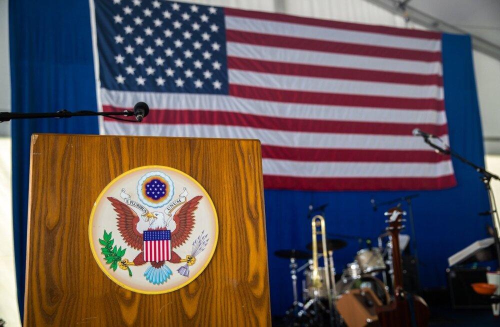 USA iseseisvuspäeva tähistamine suursaadiku residentsis