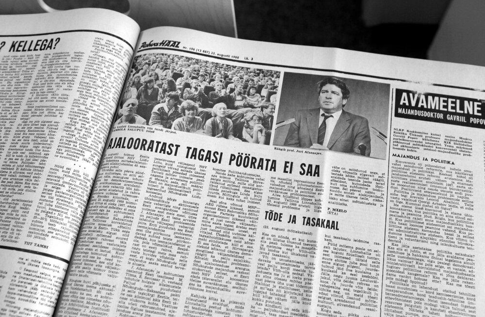 1988. aasta augusti Rahva Hääle artiklid