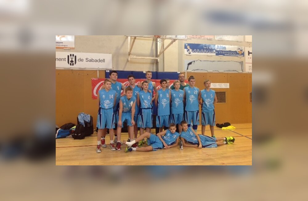 Tallinna Kalevi U14 korvpallurid