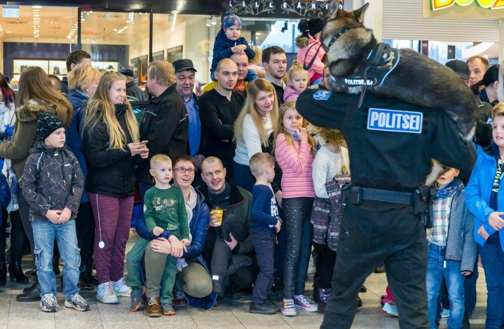 Eesti Politsei 99 Lõunakeskuses