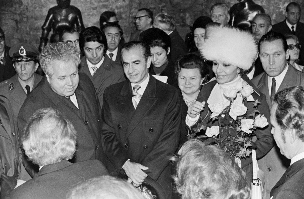 Iraani šahhi Mohammad Reza Pahlavi ja keisrinna Farah Pahlavi külaskäik Nõukogude Eestisse 1972. aasta oktoobris oli tõeline suursündmus.