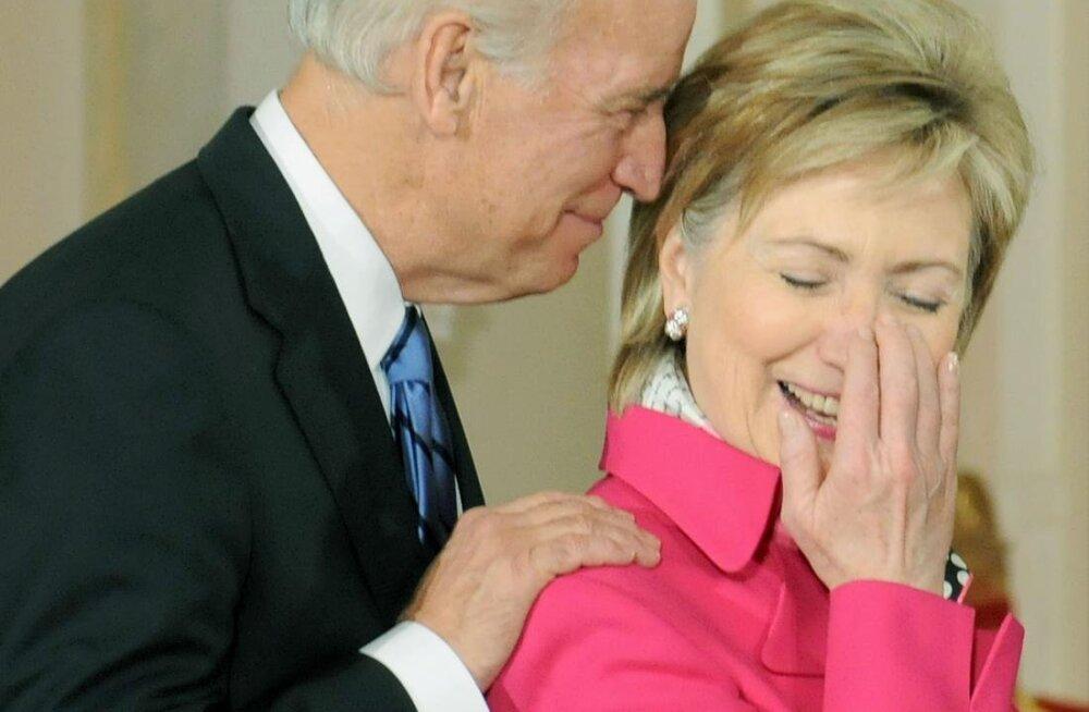 Ajaleht: Trumpi vastu kaaluti Clintoni asemel Bideni kandidatuuri