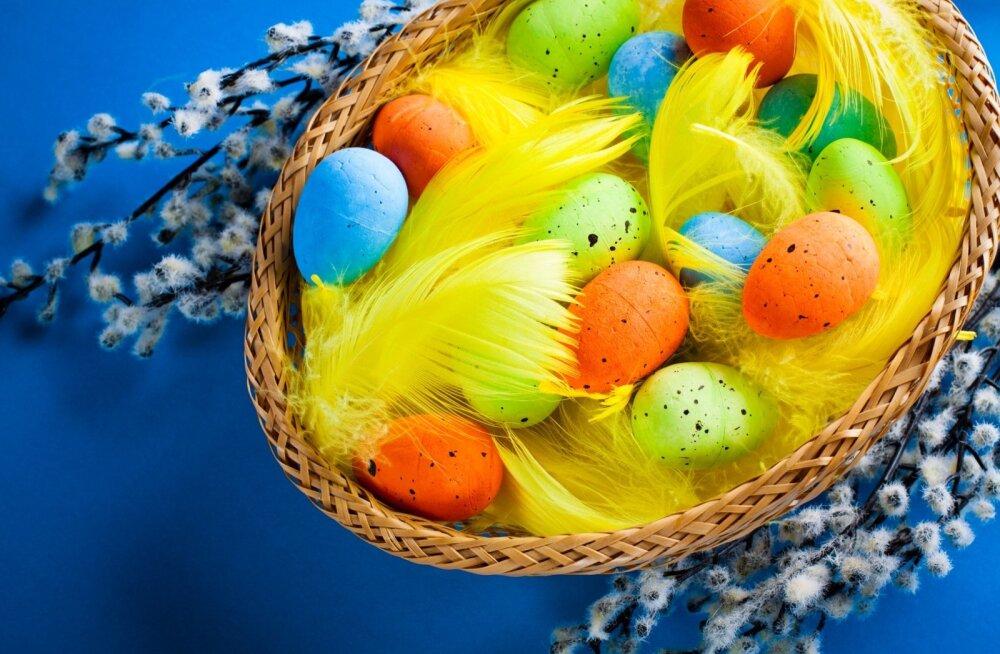 Kevadpühadeks tooge tuppa erksad värvid.