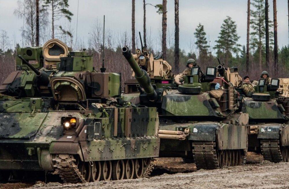Raske soomus jõuab Eestisse: saladuskatet paotab 1. jalaväebrigaadi ülem