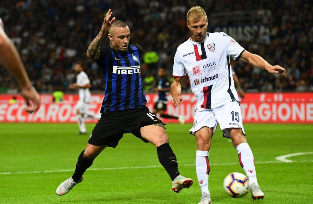 Vigastatud Klavan homme Bologna vastu ei mängi