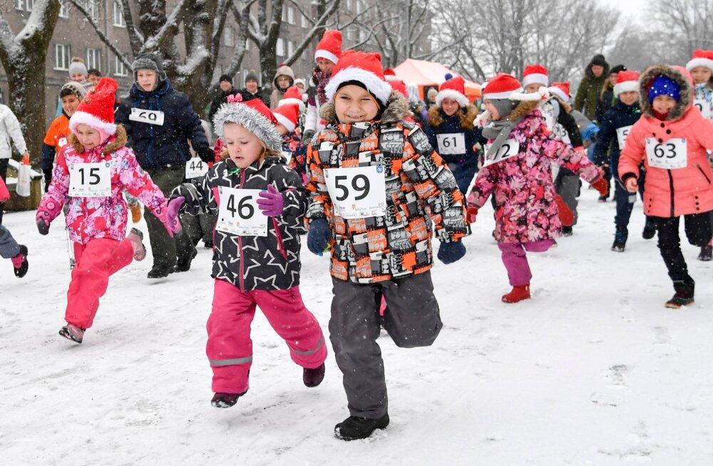 Jõulujooks Narvas