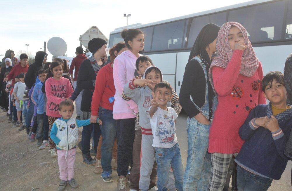 Из 175 беженцев остались 82: иракская семья из шести человек не вернулась в Эстонию
