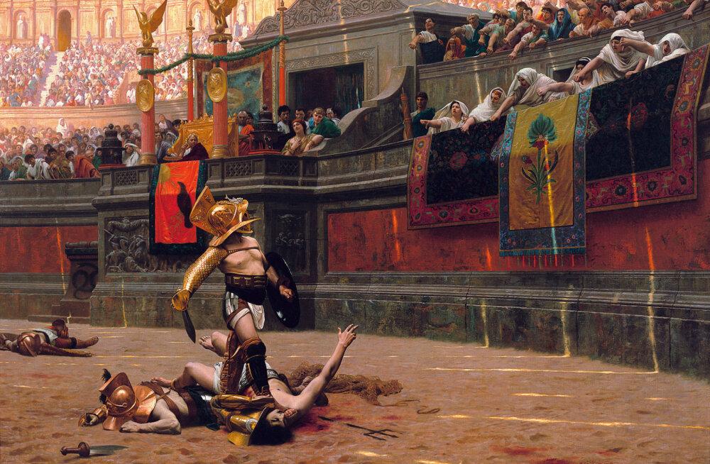 Iidsete gladiaatorite menüü oli peamiselt taimne ja parajalt paksukstegev