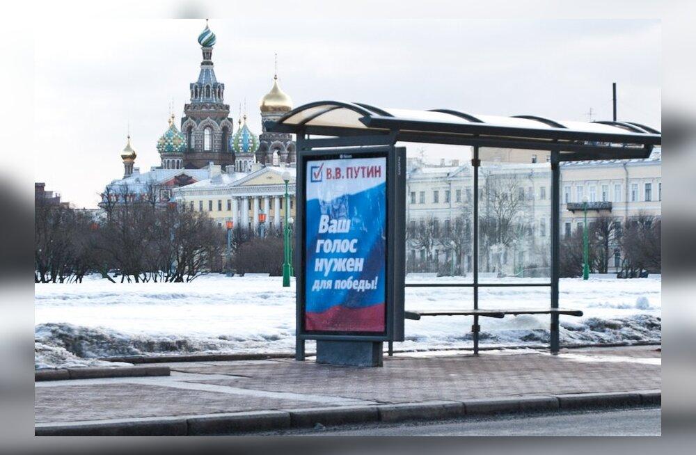 Venemaa valib täna presidenti