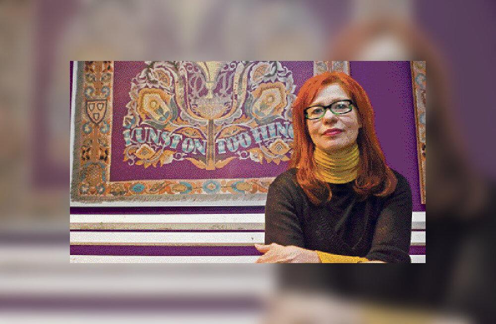 Signe Kivi: astuksin ka täna kunstiakadeemiasse