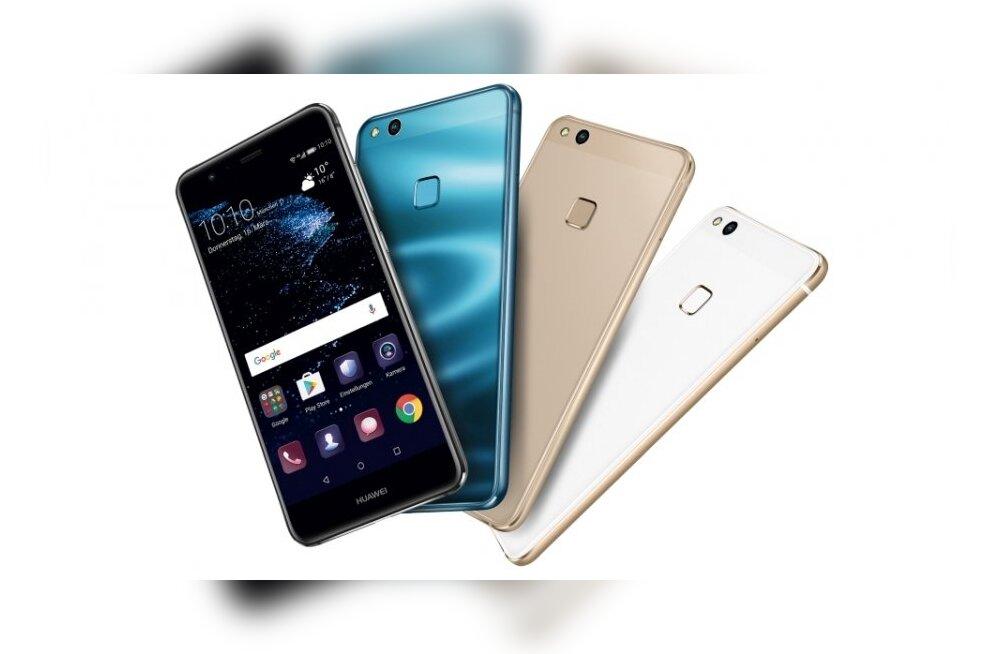 TEST: Huawei nutitelefon P10 Lite – oma hinna kohta piisavalt kerge