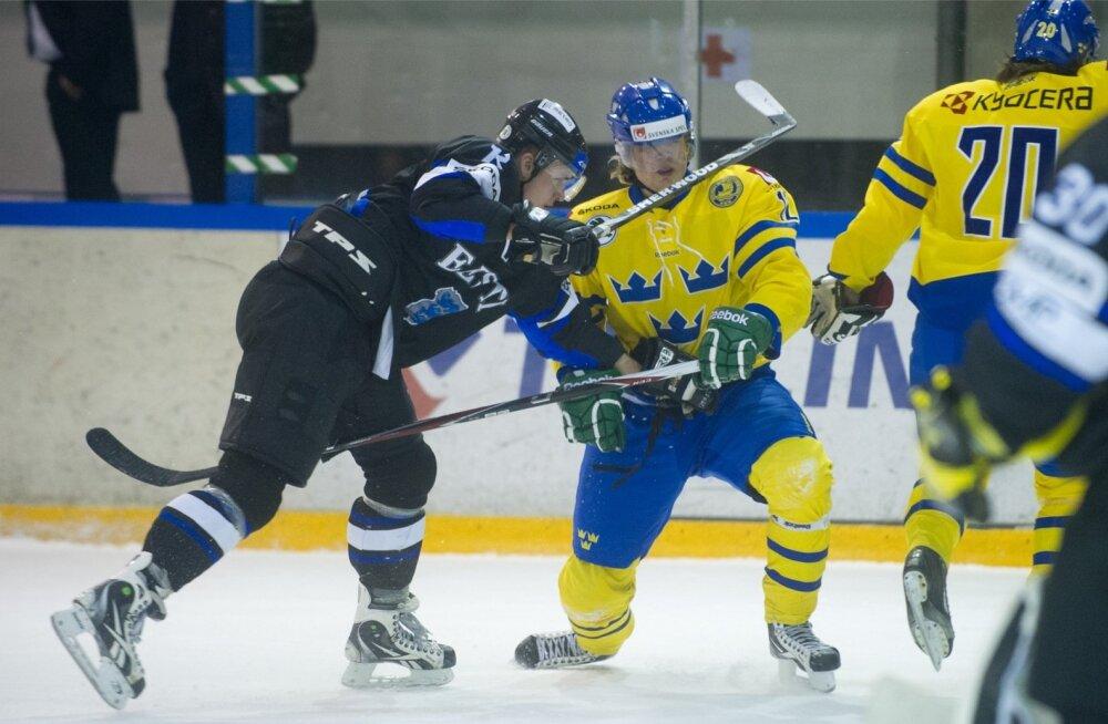 Eesti jäähokikoondis ja Rootsi U-20 koondise sõprusmäng
