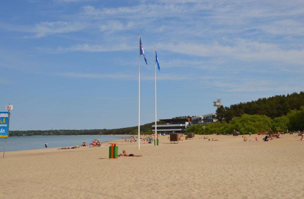Район Пирита подает запрос на получение пляжем Пирита международного знака качества