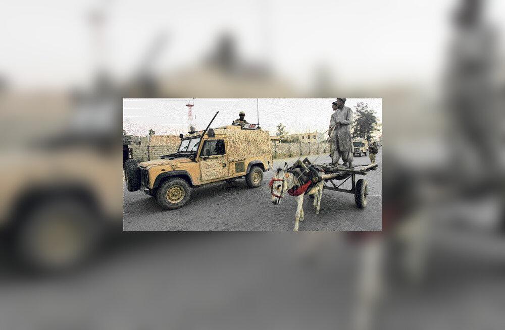 Britid tõrjusid Eesti luurajad Afganistanis luuretöölt eemale
