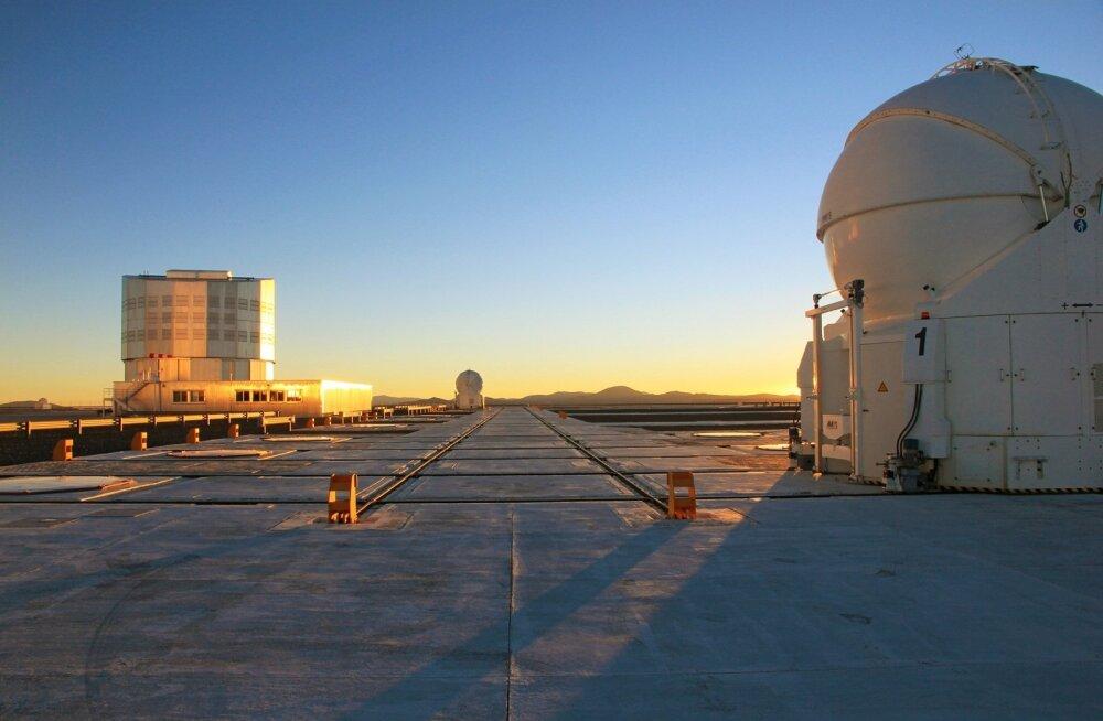 Very Large Telescope Tšiilis