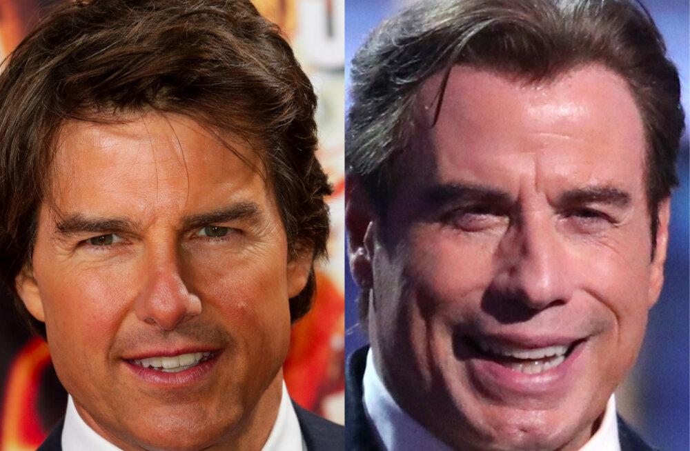 John Travolta ja Tom Cruise ei salli üksteist silmaotsaski! Mehed ajas tülli saientoloogia