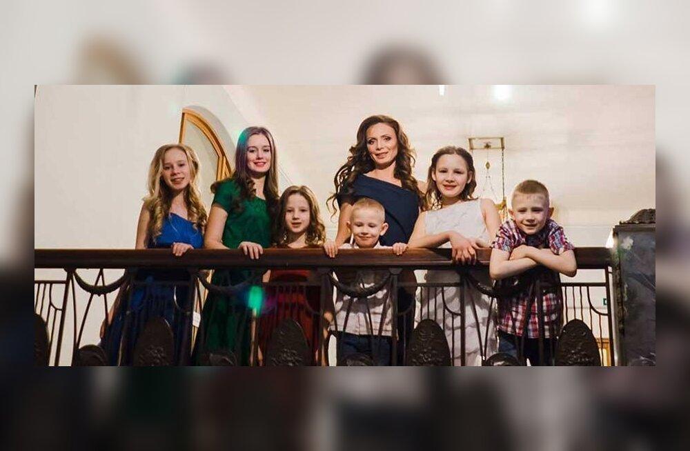 Шестеро детей – не так уж много: Миссис Россия 2015 поделилась в Таллинне секретами красоты