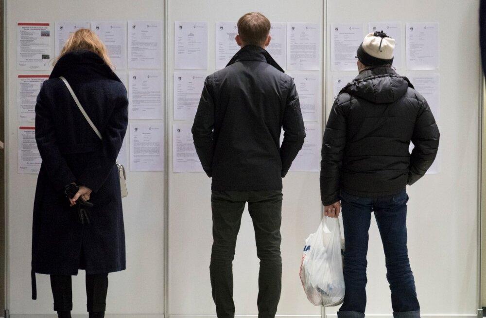 Eesti on tööhõivelt Euroopa esirinnas, tootlikkus aga tempoga kaasa ei tule
