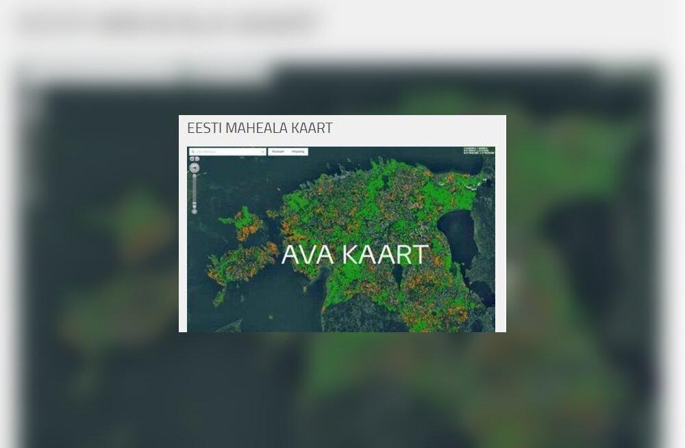 Vaata ise ka: veebis on Eesti mahealade kaart!