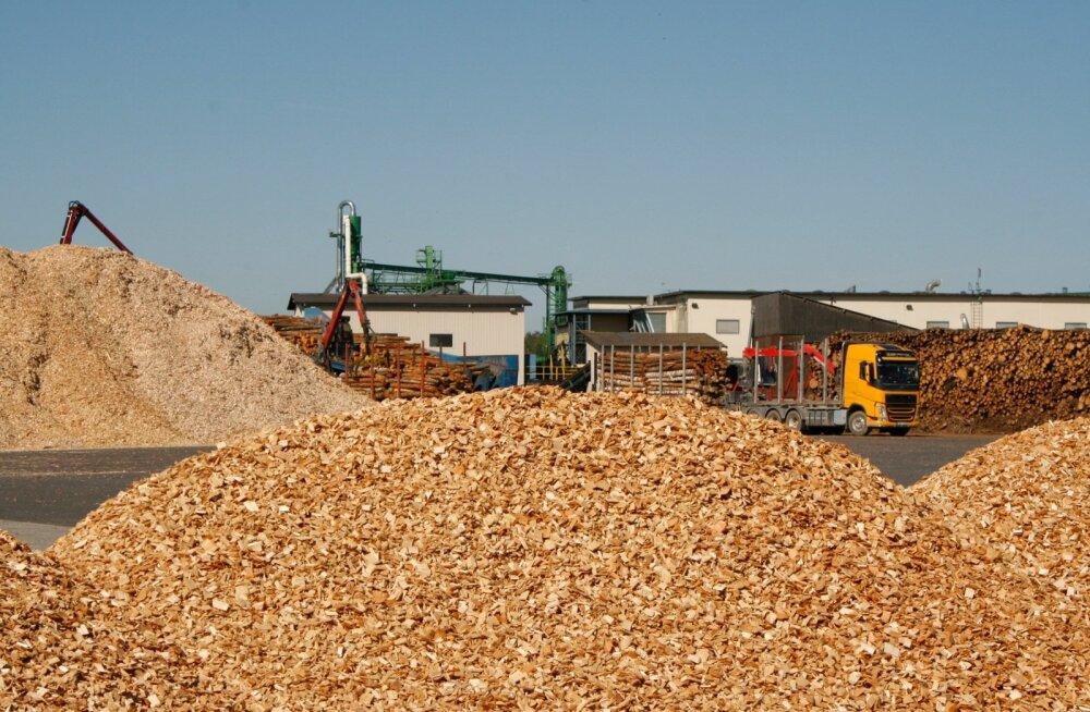 Lõviosa Imavere graanulitehase toormest moodustab küttepuupalk, aga ostetakse ka juba valmis hakkpuitu.