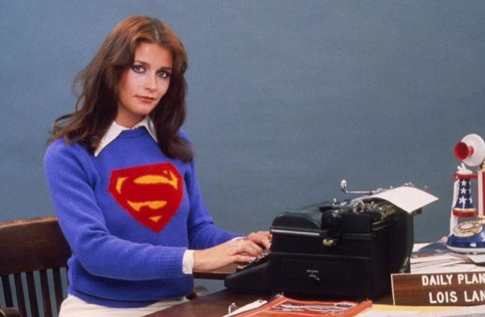"""Suri """"Supermani"""" filmides Lois Lane'i kehastanud Margot Kidder"""