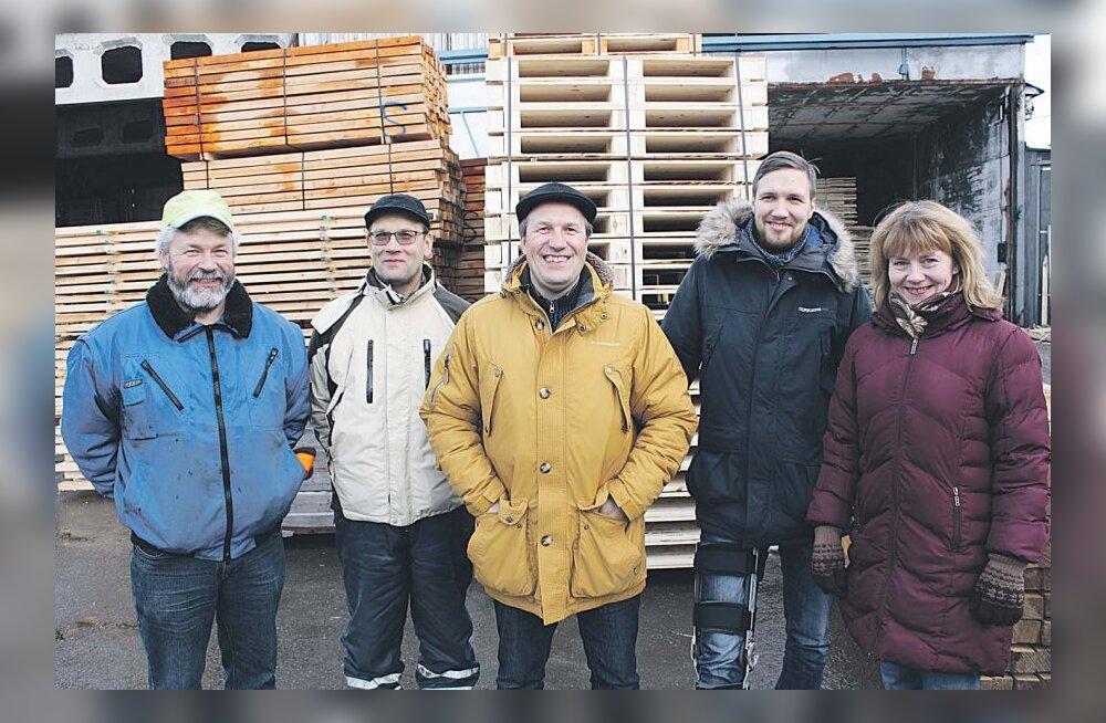 Nelico puidutööstus - kolme venna lugu